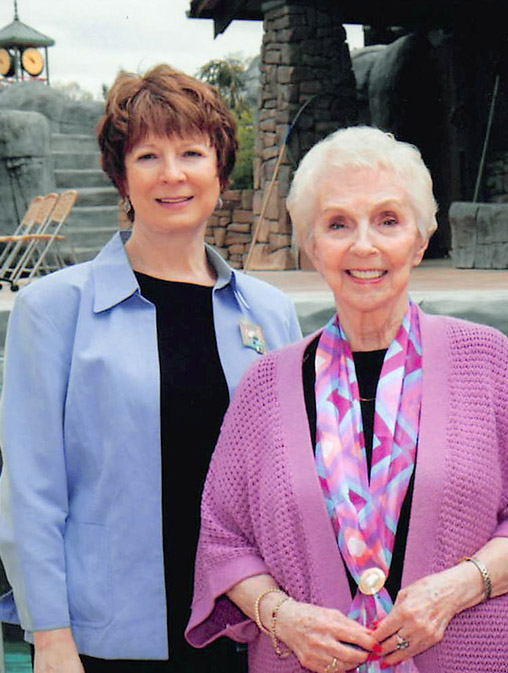 Mary Kemp (left) and JoAnn Hejna (right)from The Saigh Foundation