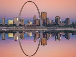 St. Louis Arch skyline